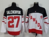 Olympic CA 27 Alex Galchenyuk White 100th Anniversary Stitched NHL Jersey