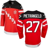 Olympic CA 27 Alex Pietrangelo Red 100th Anniversary Stitched NHL Jersey
