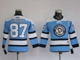 Pittsburgh Penguins #87 Sidney Crosby Stitched Blue NHL Jersey