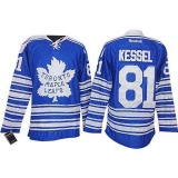 Toronto Maple Leafs #81 Phil Kessel Blue 2014 Winter Classic Stitched NHL Jersey