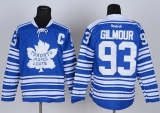 Toronto Maple Leafs #93 Doug Gilmour Blue 2014 Winter Classic Stitched NHL Jersey