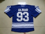 Toronto Maple Leafs #93 Doug Gilmour Blue Third Stitched NHL Jersey