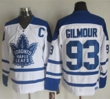 Toronto Maple Leafs #93 Doug Gilmour White CCM Throwback Winter Classic Stitched NHL Jersey