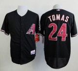 Arizona Diamondbacks #24 Yasmany Tomas Black Cool Base Stitched MLB Jersey