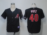 Arizona Diamondbacks #40 JJ Putz Black Stitched MLB Jersey