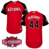 Arizona Diamondbacks #44 Paul Goldschmidt Red 2015 All-Star National League Stitched MLB Jersey
