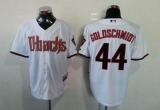 Arizona Diamondbacks #44 Paul Goldschmidt White Cool Base Stitched MLB Jersey
