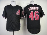 Arizona Diamondbacks #46 Patrick Corbin Black Cool Base Stitched MLB Jersey