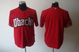 Arizona Diamondbacks Blank Red Cool Base Stitched MLB Jersey