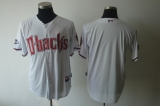 Arizona Diamondbacks Blank White Cool Base Stitched MLB Jersey