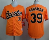 Baltimore Orioles #39 Kevin Gausman Orange Cool Base Stitched MLB Jersey