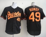 Baltimore Orioles #49 Dylan Bundy Black Cool Base Stitched MLB Jersey