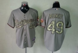 Baltimore Orioles #49 Dylan Bundy Grey USMC Cool Base Stitched MLB Jersey