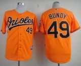 Baltimore Orioles #49 Dylan Bundy Orange Cool Base Stitched MLB Jersey