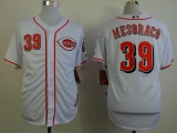 Cincinnati Reds #39 Devin Mesoraco White Cool Base Stitched MLB Jersey