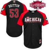 Baltimore Orioles #53 Zach Britton Black 2015 All-Star American League Stitched MLB Jersey