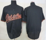 Baltimore Orioles Blank Black Fashion Stitched MLB Jersey