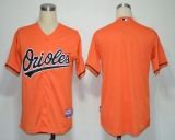 Baltimore Orioles Blank Orange Cool Base Stitched MLB Jersey