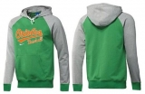 Baltimore Orioles Pullover Hoodie Green & Grey