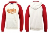 Baltimore Orioles Pullover Hoodie White & Red
