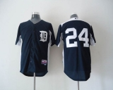 Detroit Tigers #24 Miguel Cabrera Navy Blue 2011 Home Cool Base BP Stitched MLB Jersey