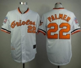 Mitchell And Ness 1989 Baltimore Orioles #22 Jim Palmer White Throwback Stitched MLB Jersey