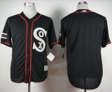 Chicago White Sox Blank Black New Cool Base Stitched MLB Jersey