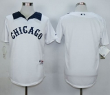 Chicago White Sox Blank White 1976 Turn Back The Clock Stitched MLB Jersey