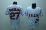Los Angeles Angels of Anaheim #27 Vladimir Guerrero Stitched White MLB Jersey