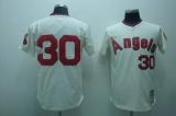 Los Angeles Angels of Anaheim #30 Nolan Ryan Stitched Cream MLB Jersey