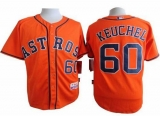 Houston Astros #60 Dallas Keuchel Orange Cool Base Stitched MLB Jersey
