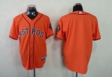 Houston Astros Blank Orange Cool Base Stitched MLB Jersey