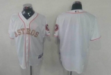 Houston Astros Blank White USMC Cool Base Stitched MLB Jersey