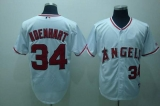 Los Angeles Angels of Anaheim #34 Nick Adenhart Stitched White MLB Jersey