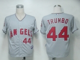 Los Angeles Angels of Anaheim #44 Mark Trumbo Grey Cool Base Stitched MLB Jersey
