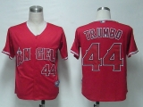 Los Angeles Angels of Anaheim #44 Mark Trumbo Red Cool Base Stitched MLB Jersey