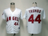 Los Angeles Angels of Anaheim #44 Mark Trumbo White Cool Base Stitched MLB Jersey