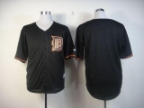 Detroit Tigers Blank Black Fashion Stitched MLB Jersey