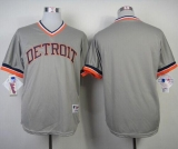 Detroit Tigers Blank Grey 1984 Turn Back The Clock Stitched MLB Jersey