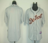 Detroit Tigers Blank Grey Cool Base Stitched MLB Jersey
