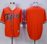 Detroit Tigers Blank Orange New Cool Base Stitched MLB Jersey