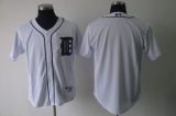 Detroit Tigers Blank White Cool Base Stitched MLB Jersey