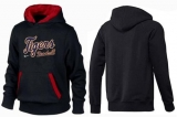 Detroit Tigers Pullover Hoodie Black & Red