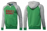 Los Angeles Angels Pullover Hoodie Green & Grey