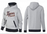 Detroit Tigers Pullover Hoodie Grey & Black