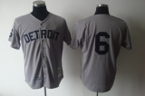 Mitchell And Ness 1968 Detroit Tigers #6 Al Kaline Grey Stitched MLB Jersey