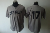 Mitchell And Ness 1968 Detroit Tigers #17 Denny McClain Grey Stitched MLB Jersey