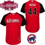 Chicago Cubs #44 Anthony Rizzo Red 2015 All-Star National League Stitched MLB Jersey