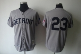 Mitchell And Ness 1969 Detroit Tigers #23 Willie Horton Grey Stitched MLB Jersey