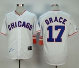 Mitchell And Ness 1988 Chicago Cubs #17 Mark Grace White Stitched MLB Jersey